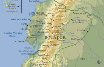 Ecuador Karte